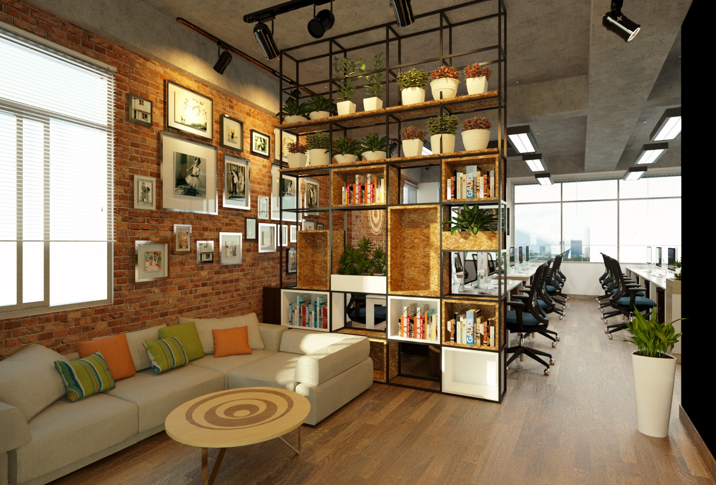 Beyond office | F 4, 202 Ly Chinh Thang st, D.3, HCMC | 175m²