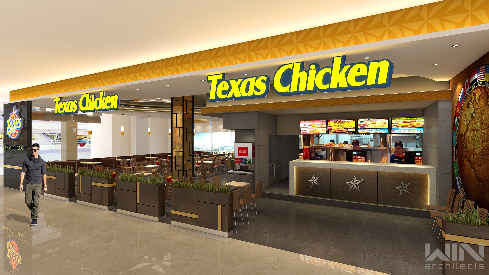 Texas Chicken Vincom District 2 | 198m²